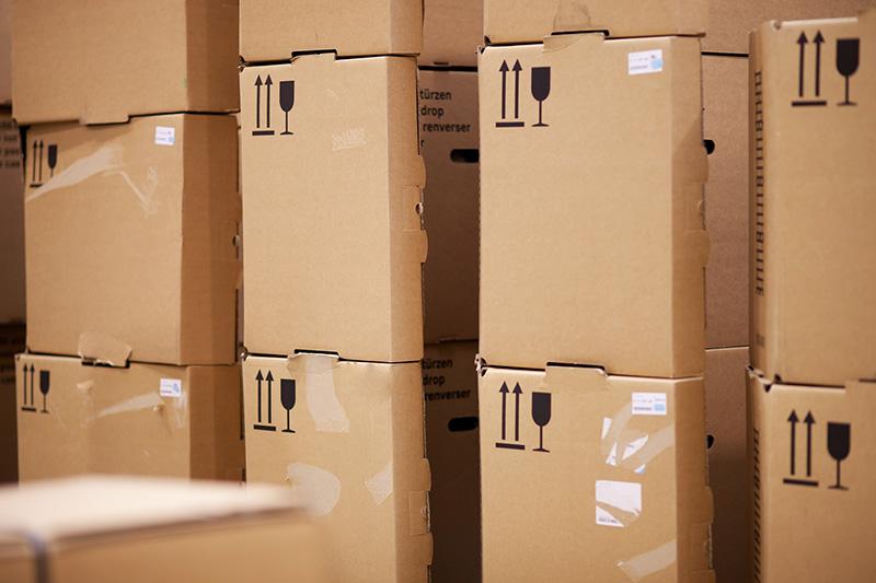 Nadruki na pudełkach