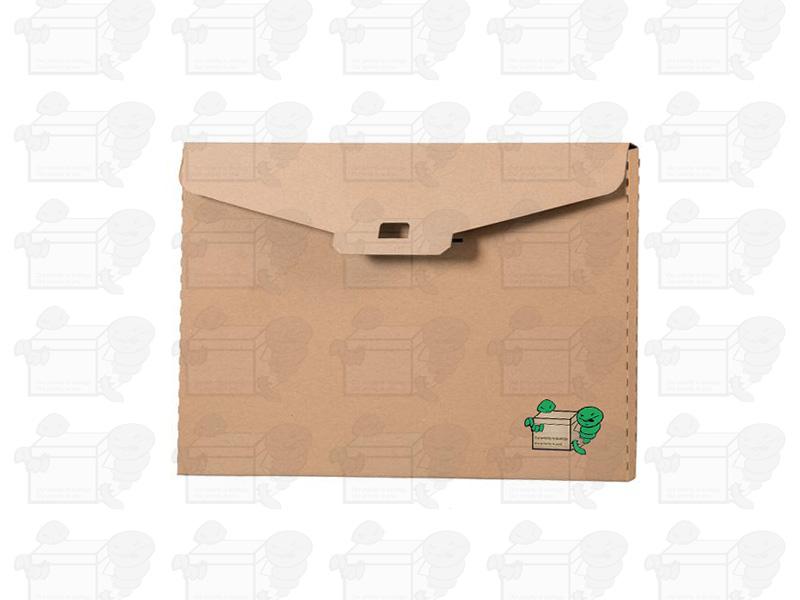 Nadruki na kopercie z kartonu